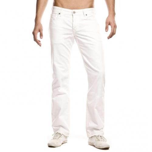 Cross Jeans Luigi Straight Fit Weiß