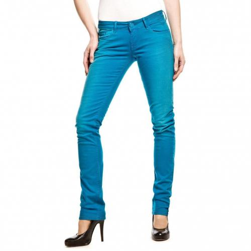 Cross Jeans Scarlett Jeans Slim Fit Türkis