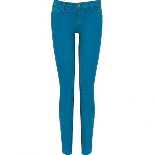 Current Elliott Blue Canteen Ankle Skinny Jeans
