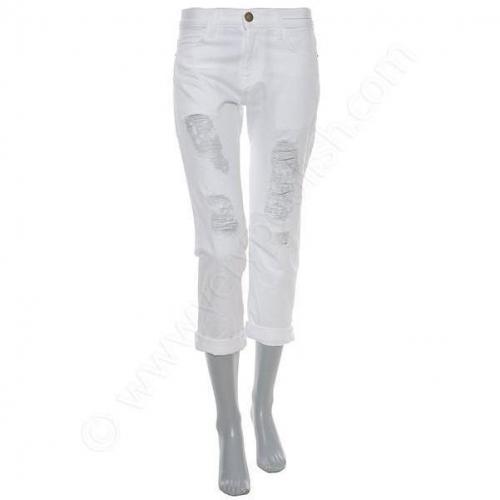 Current/Elliott Jeans - The Boyfriend white