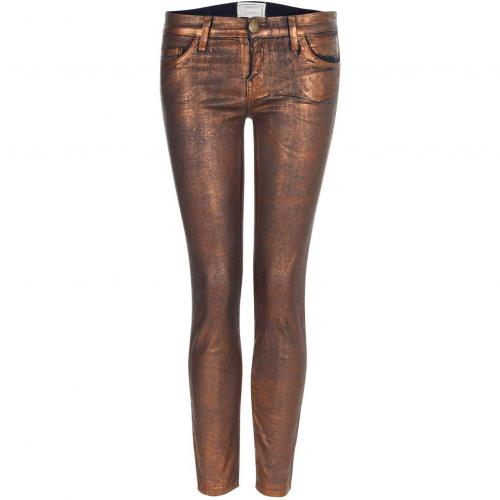 Current Elliott Jeans THE STILETTO bronze