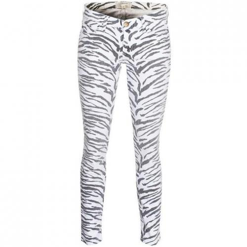 Current/Elliott The Ankle Skinny Vintage Zebra