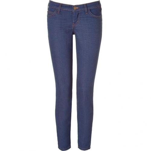 Current Elliott The Stiletto Cowgirl Blue Jeans