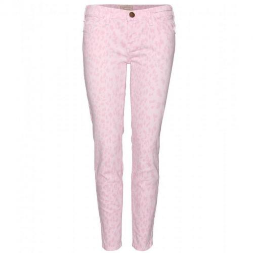 Current/Elliott The Stiletto Skinny Jeans Mit Animalprint