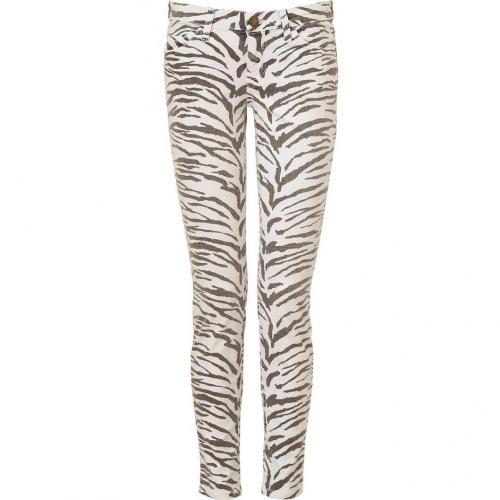Current Elliott Vintage Zebra Skinny Ankle Pants