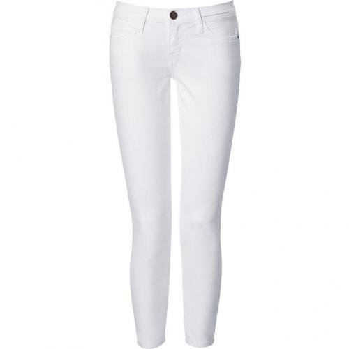 Current Elliott White Stiletto 7/8 Jeans