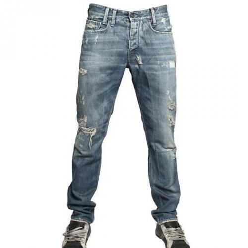 Cycle - 17Cm Destroy Denim Jeans