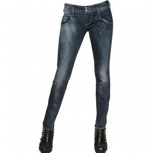 Cycle - Denim Stretch Skinny Jeans Washed Blue