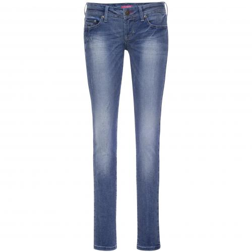 Daniela Katzenberger Damen Jeans in Used-Optik