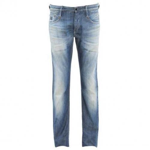 Denham - Hüftjeans Skin 10SS Blaue Waschung