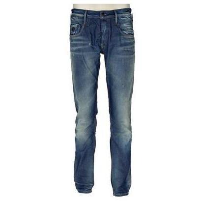 Denham Jeanshose Mid Blue