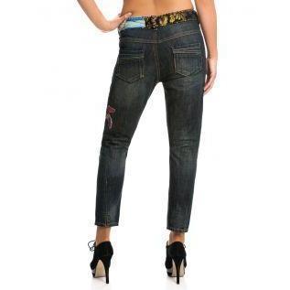Desigual Damen Jeans Chirimoya