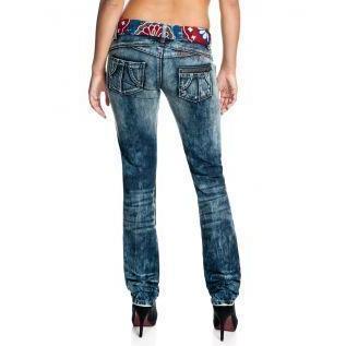 Desigual Damen Jeans Meridional