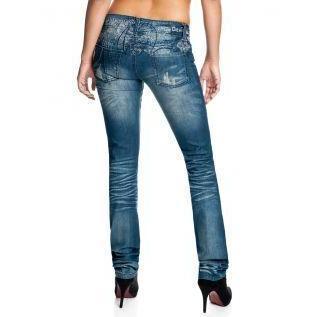 Desigual Damen Jeans Monedera