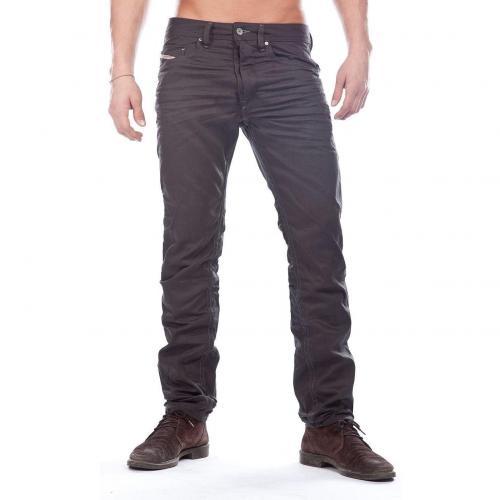 Diesel Braddom Jeans Straight Fit Schwarz