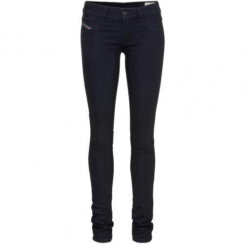 Diesel Damen Jeans Livier Black 66C