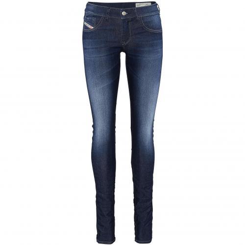 Diesel Damen Jeans Livier Darkblue 661A01