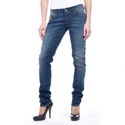 Diesel Grupee Jeans Slim Fit Stone Used