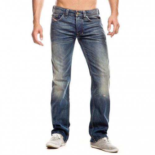 Diesel Larkee Jeans Straight Fit Stone Used