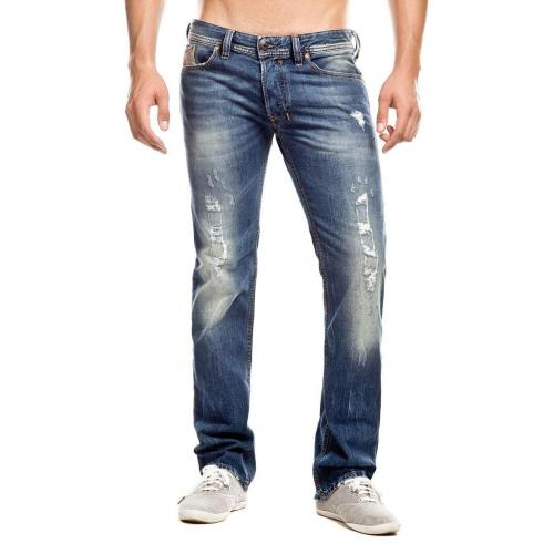 Diesel Safado Jeans Straight Fit Destroyed