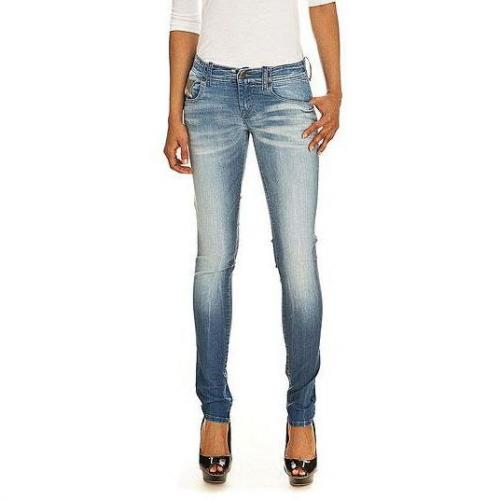 Diesel - Skinny Modell Grupee 0802P Farbe Helle Waschung