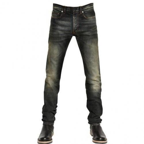 Dior Homme - 17.5Cm Jake Under My Car Washed Jeans
