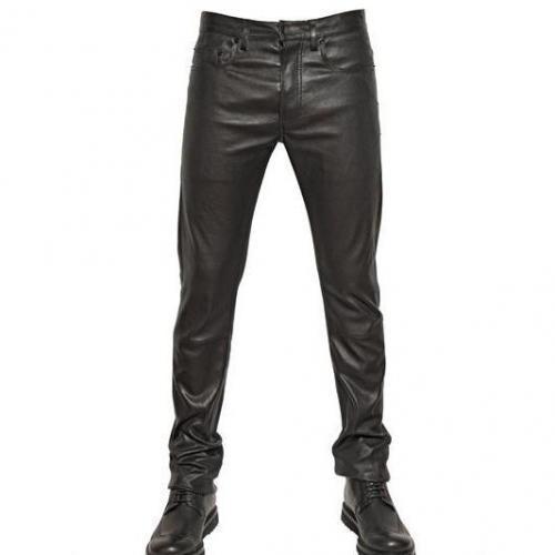 Dior Homme - 17,5Cm Stretch Nappa Leder Jeans