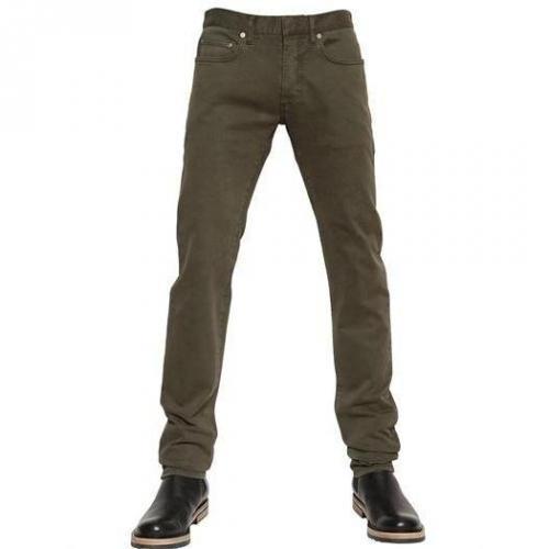 Dior Homme - 17.5Cm Super Slender Soft Hearted Jeans Braun