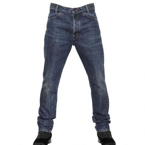 Dolce & Gabbana - 18Cm High Rise Regular Fit Denim Jeans