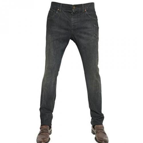 Dolce & Gabbana - 18Cm Verwaschene Denim Übergroße Jeans