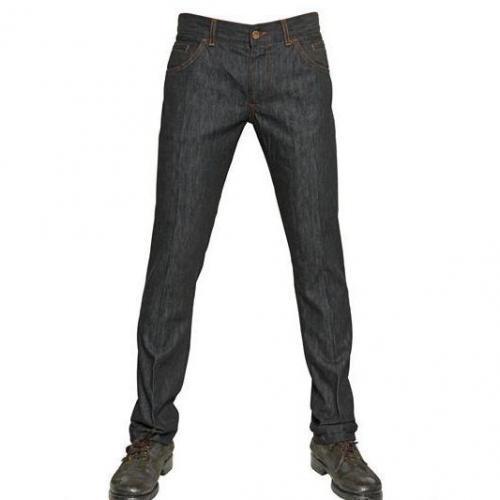 Dolce & Gabbana - 19Cm Basic Denim 14 Gold Jeans