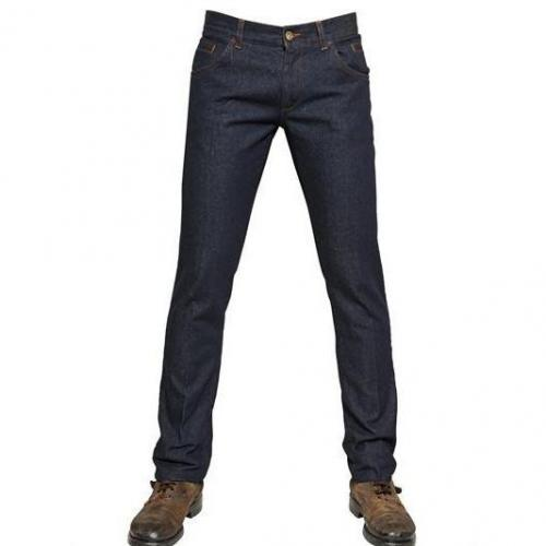 Dolce & Gabbana - 19Cm Basic Denim 14 Gold Jeans Dark