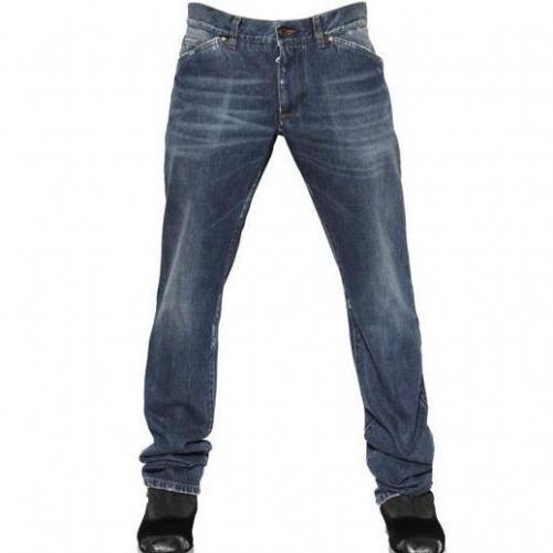Dolce & Gabbana - 19Cm Regular Rise Gold Fit Jeans