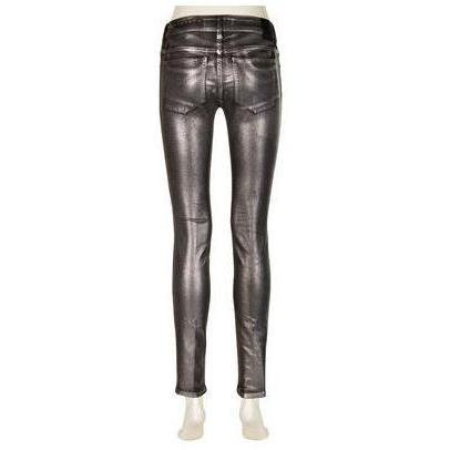 Drykorn Coated-Jeans On2 Silber