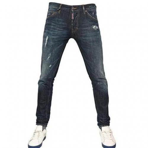Dsquared - 15,5Cm Glam Rock Fit Denim Jeans