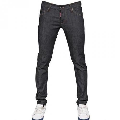 Dsquared - 16,5Cm Clement Rau Stretch Denim Jeans