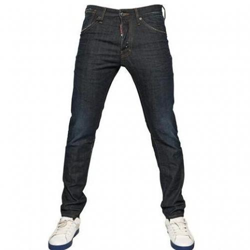 Dsquared - 16,5Cm Cool Guy Stretch Denim Jeans