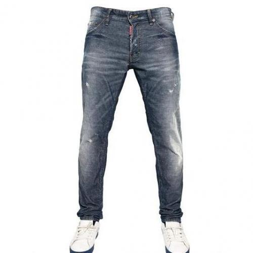 Dsquared - 16.5Cm Corduroy Denim Cool Guy Jeans