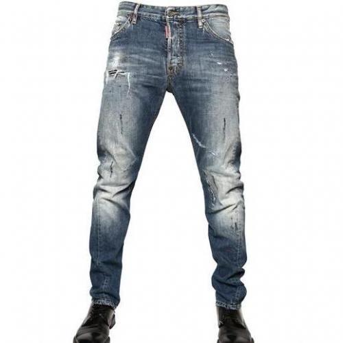 Dsquared - 16,5Cm Denim Kenny Twist Jeans