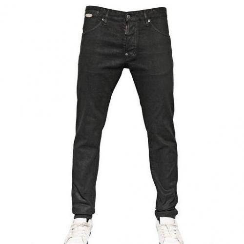 Dsquared - 16.5Cm Oiled & Dyed Denim Cool Guy Jeans