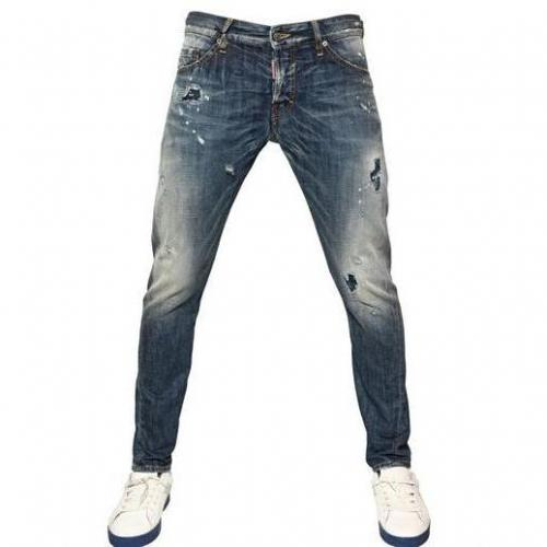 Dsquared - 16,5Cm Patch Of Blue Sexy Kenny Jeans