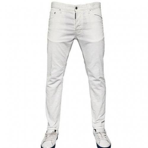 Dsquared - 16.5Cm Stretch Corduroy Cool Guy Jeans