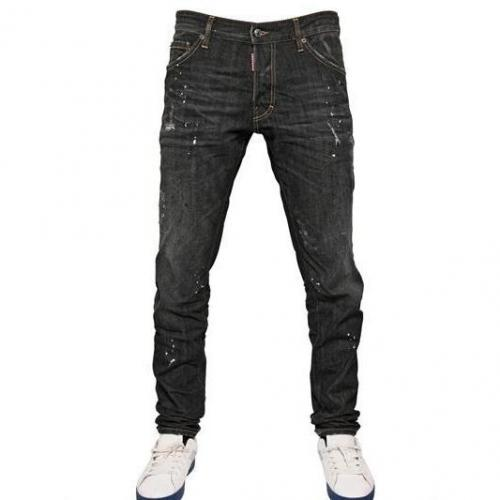 Dsquared - 16.5Cm White Piranha Cool Guy Denim