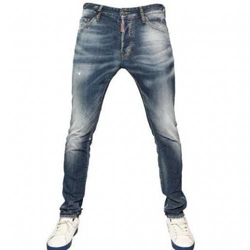 Dsquared - 16Cm Cool Guy Orange Spot Jeans
