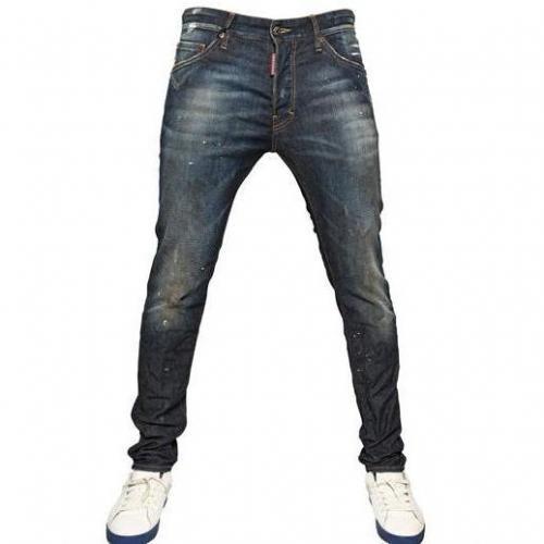 Dsquared - 16Cm Cool Guy Stretch Denim Jeans