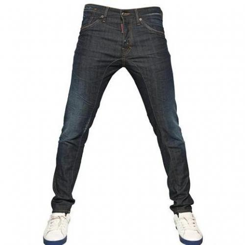 Dsquared - 16Cm New Twist Stretch Denim Jeans