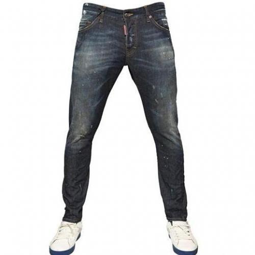 Dsquared - 16Cm Sexy Kenny Twist Denim Jeans