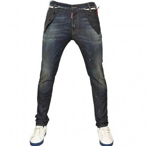 Dsquared - 16Cm Vest Cool Guy Denim Jeans Dunkelblau