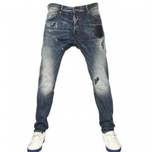 Dsquared - 17Cm Patch Of Rider Jeans
