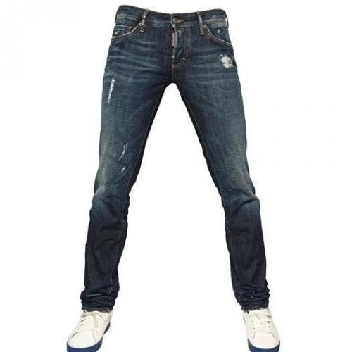 Dsquared - 18,5Cm Slim Fit Denim Jeans